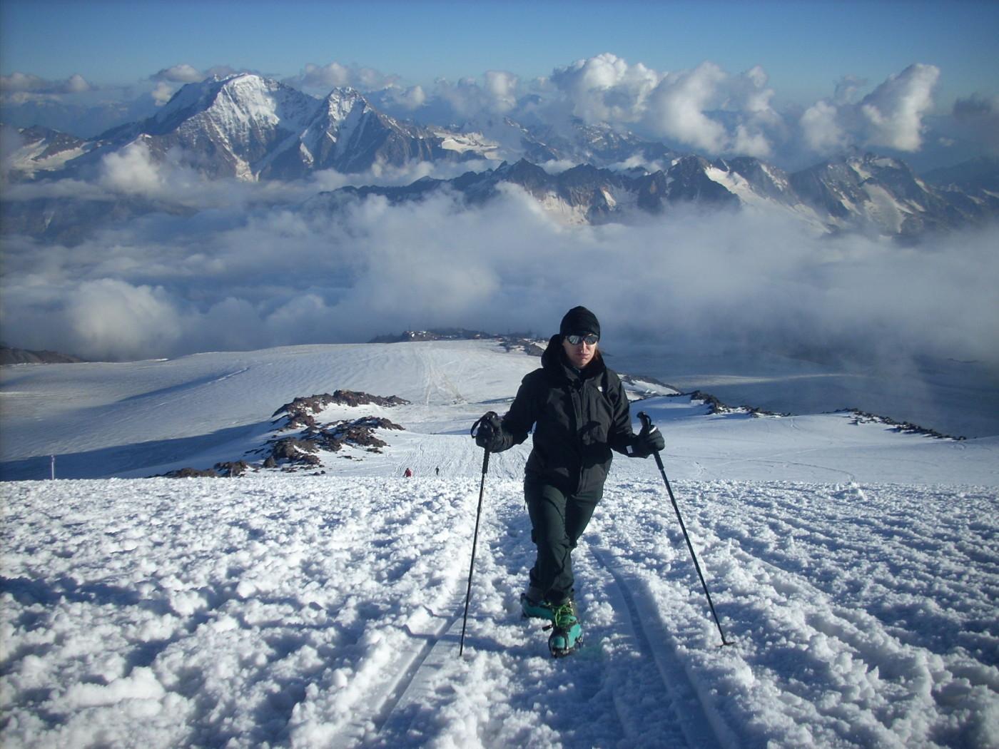 Na Elbrus nie da się wejść bez specjalistycznego ekwipunku