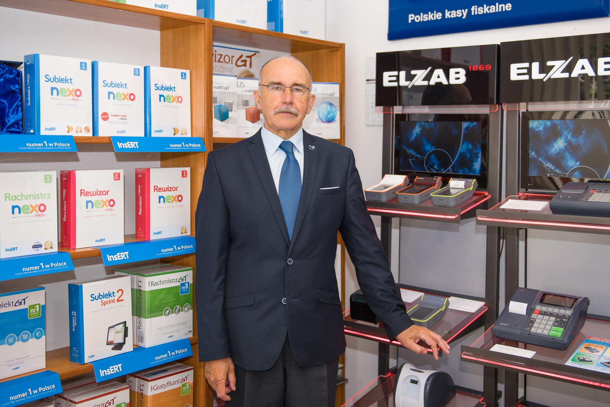 Prezes Janusz Walkowiak
