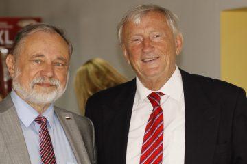 Profesorowie Bogusław Polak i Bolesław Andrzejewski