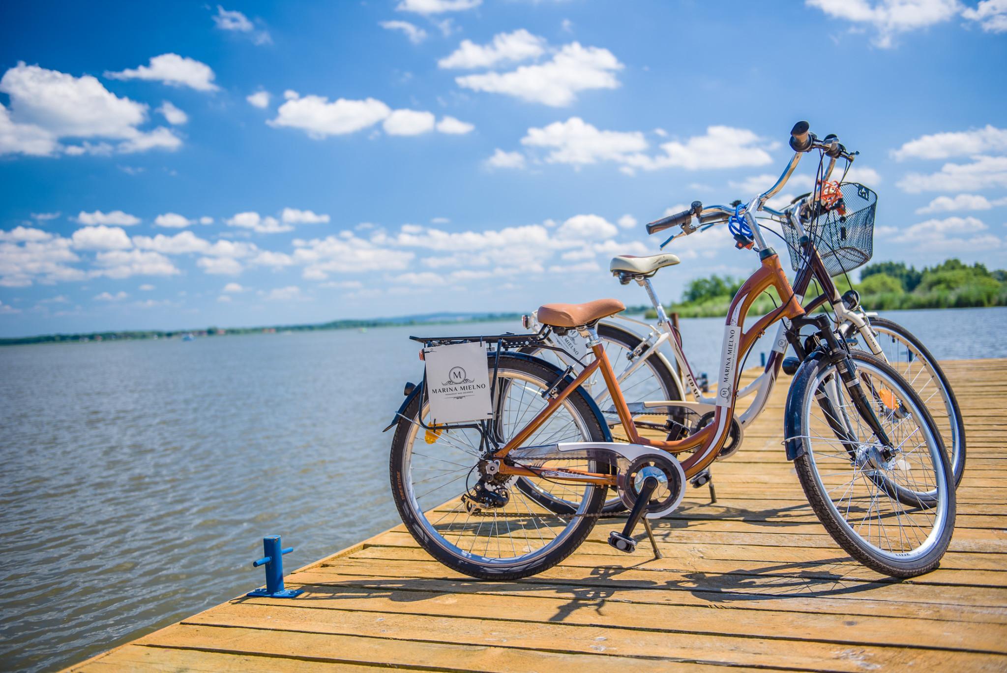 rowery na pomoście