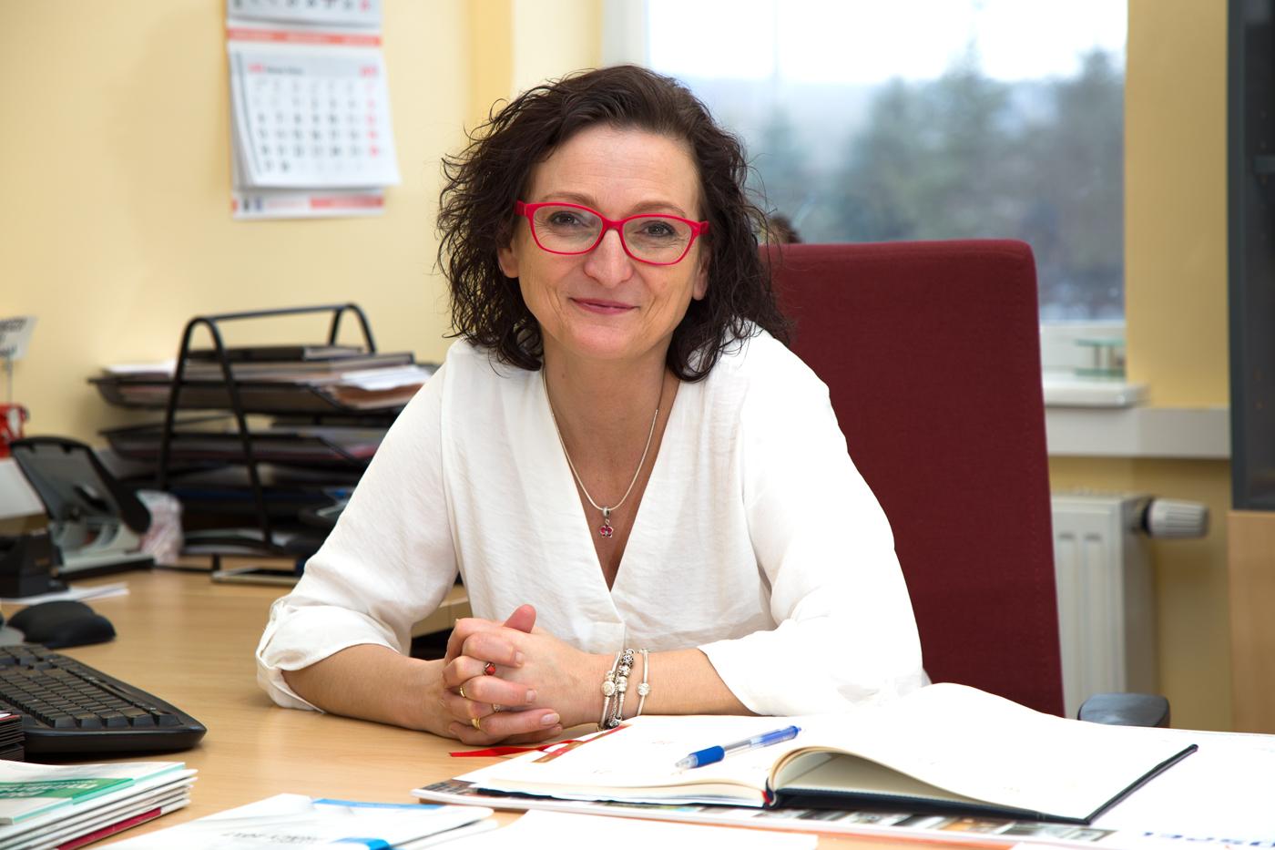 Lidia Piotrowska kierownik ds. personalnych