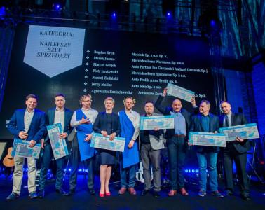Uroczystość wręczenia nagród liderom firm dealerskich Mecedes Benz Polska