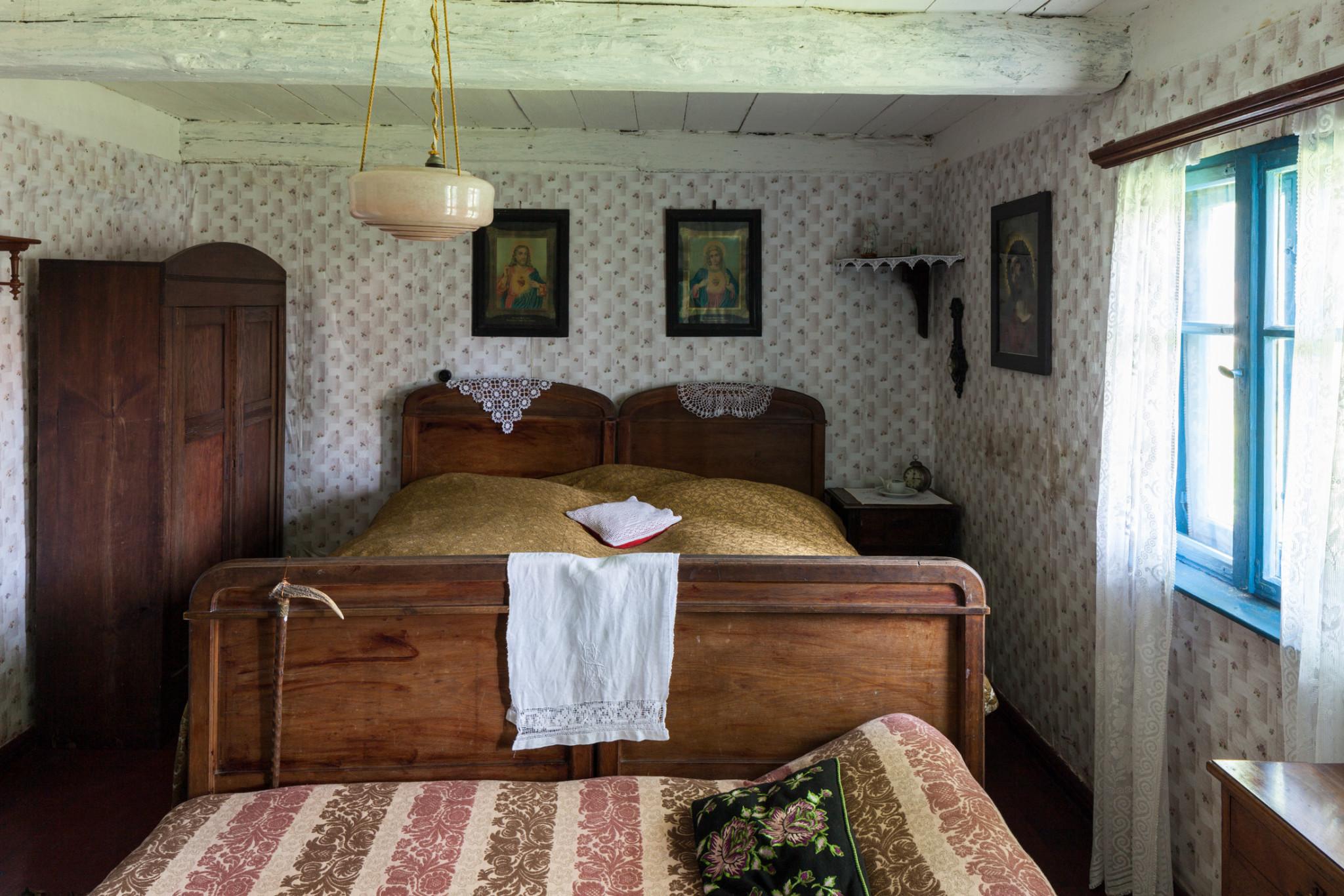 Sypialnia Keitschicków.