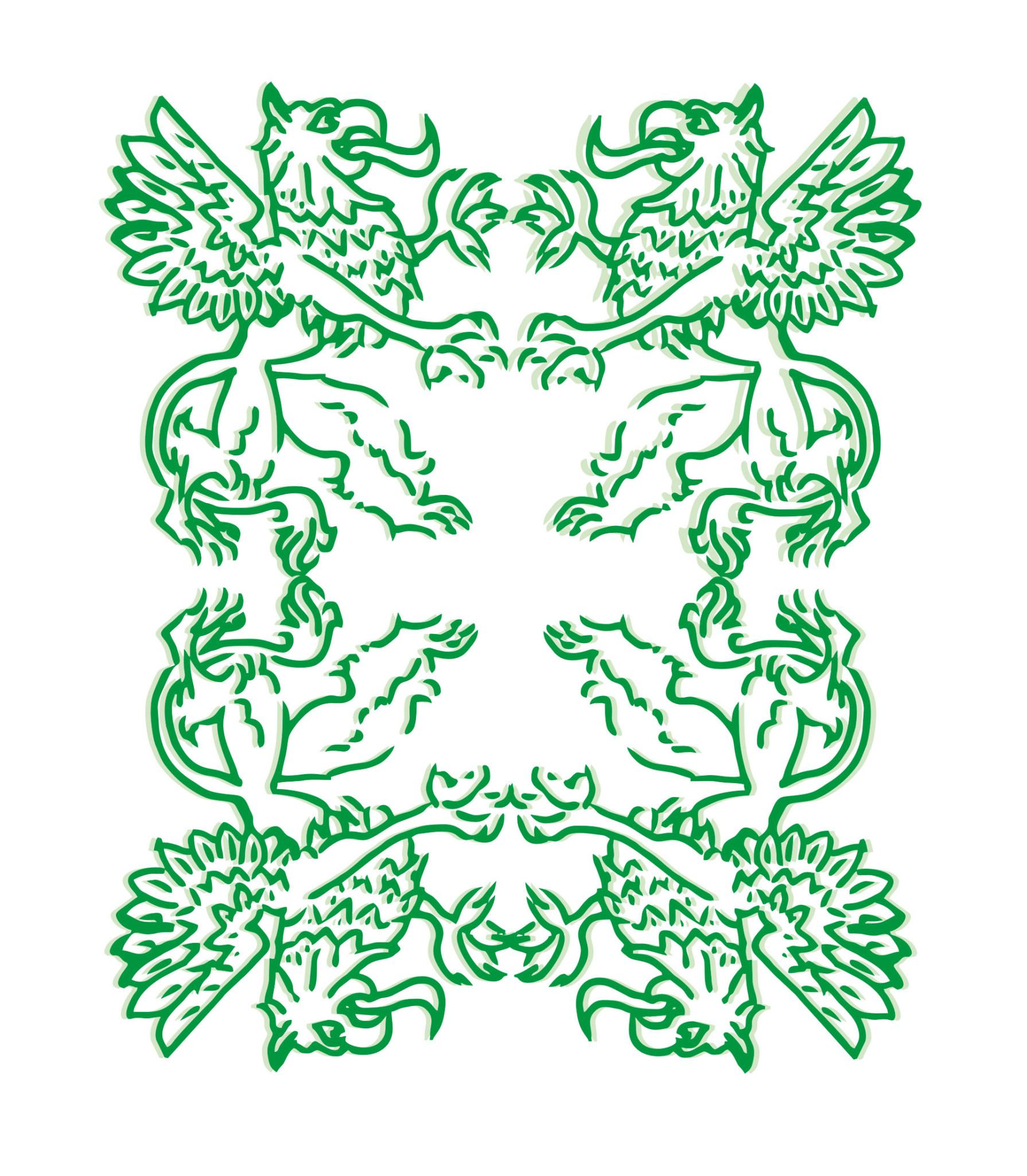 Pomerania Gryfy Białe