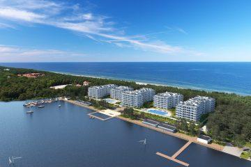 Baltic Pearl - wizualizacja docelowego kształtu kompleksu