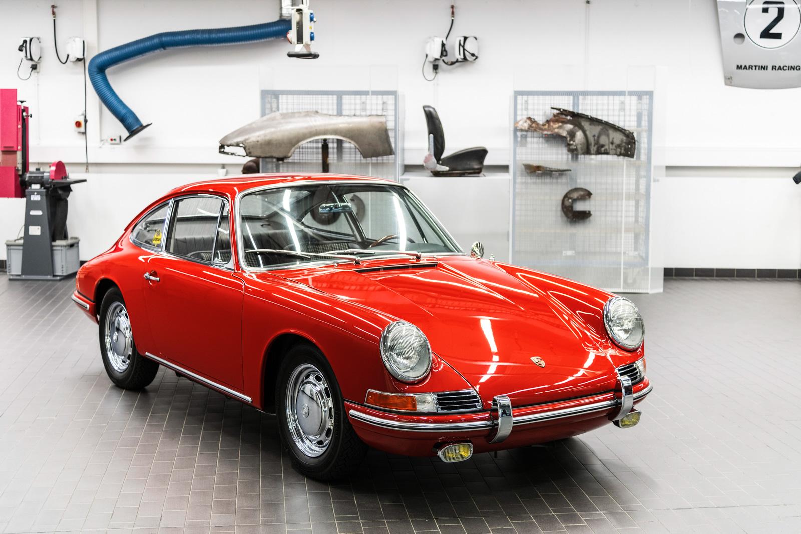 Porsche 911 (typ 901) – pierwsza generacja