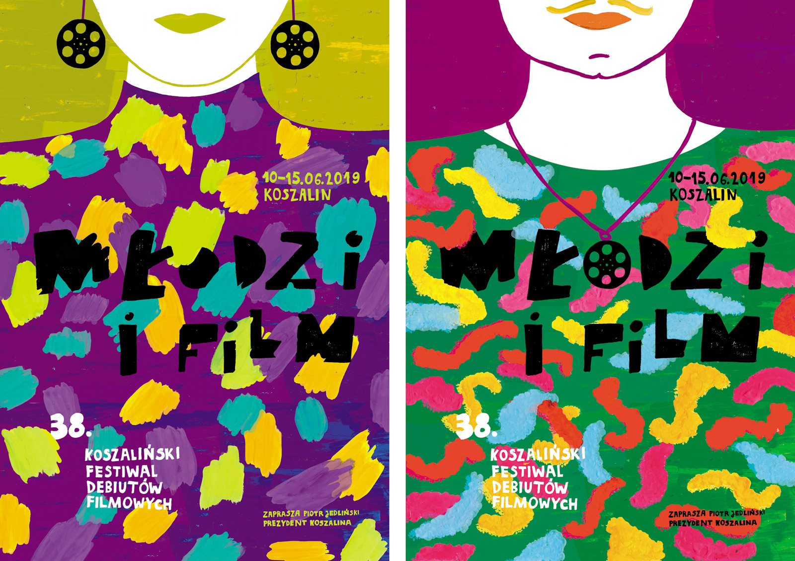 38. Festiwal Młodzi i Film - plakaty razem