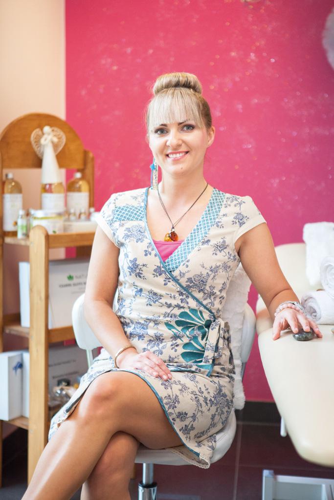 Fizjoterapeutka i masażystka Malwina Sztuka