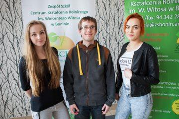 Klaudia Zawadzka Magdalena Golicka i Paweł Sowa