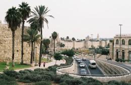 jerozolima - miasto tuz za murami starego miasta