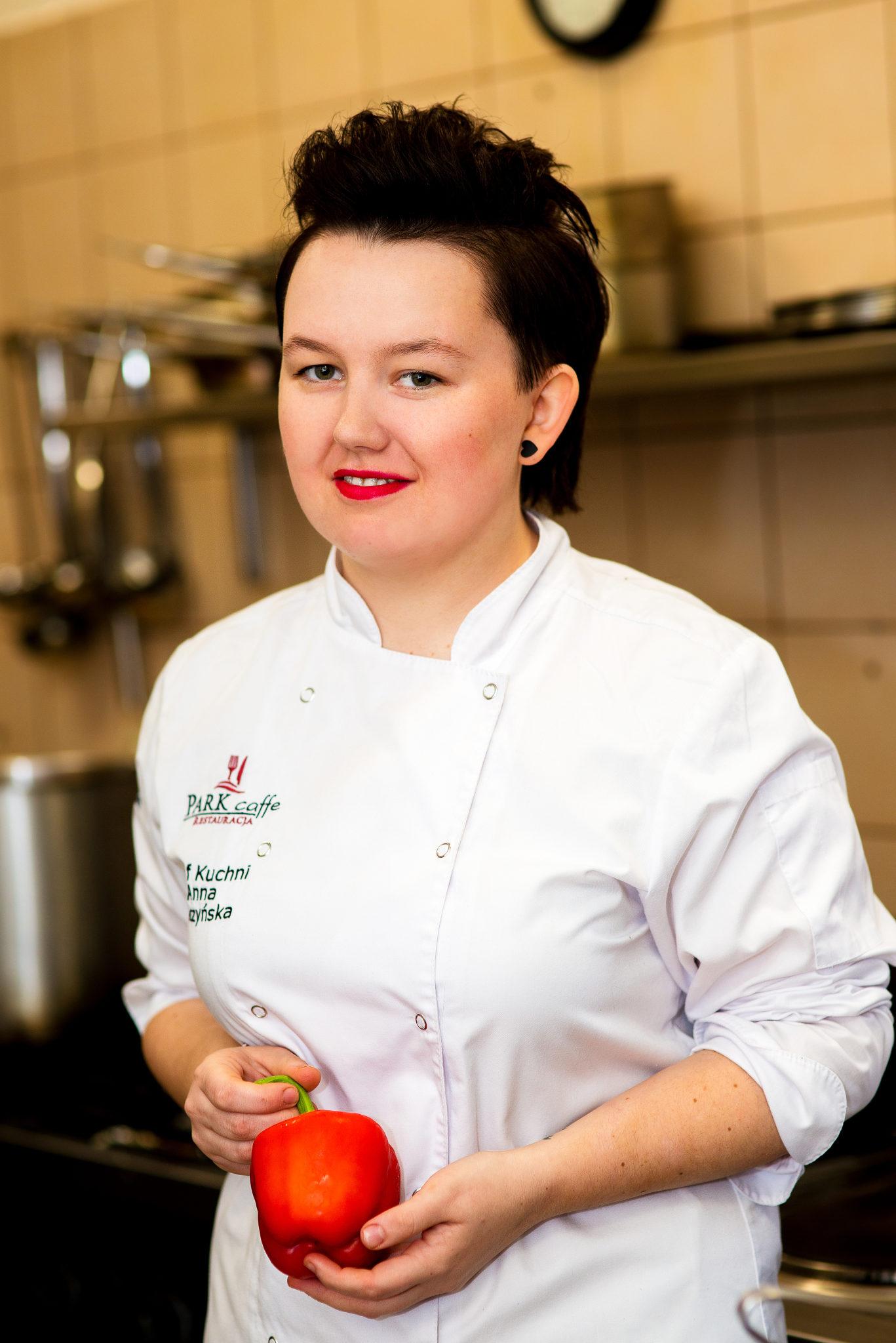 Anna Pałczyńska, szef kuchni restaturacji Park Caffe w Koszalinie