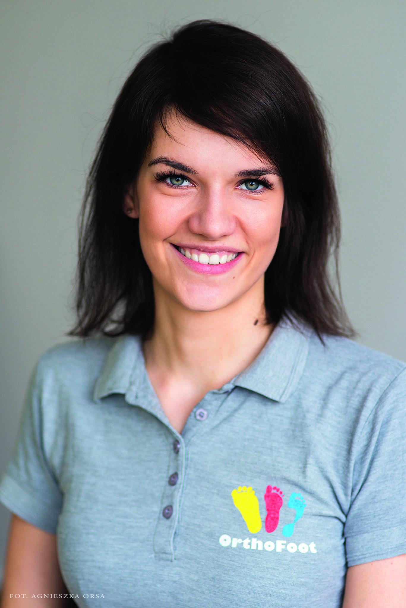 Agnieszka Ochim, fizjoterapeutka