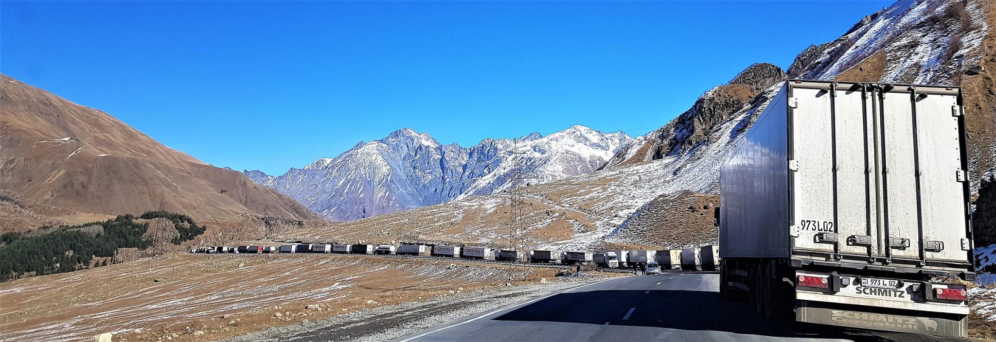 Droga Wojenna, czyli jedyny szlak łaczący Gruzję z Rosją