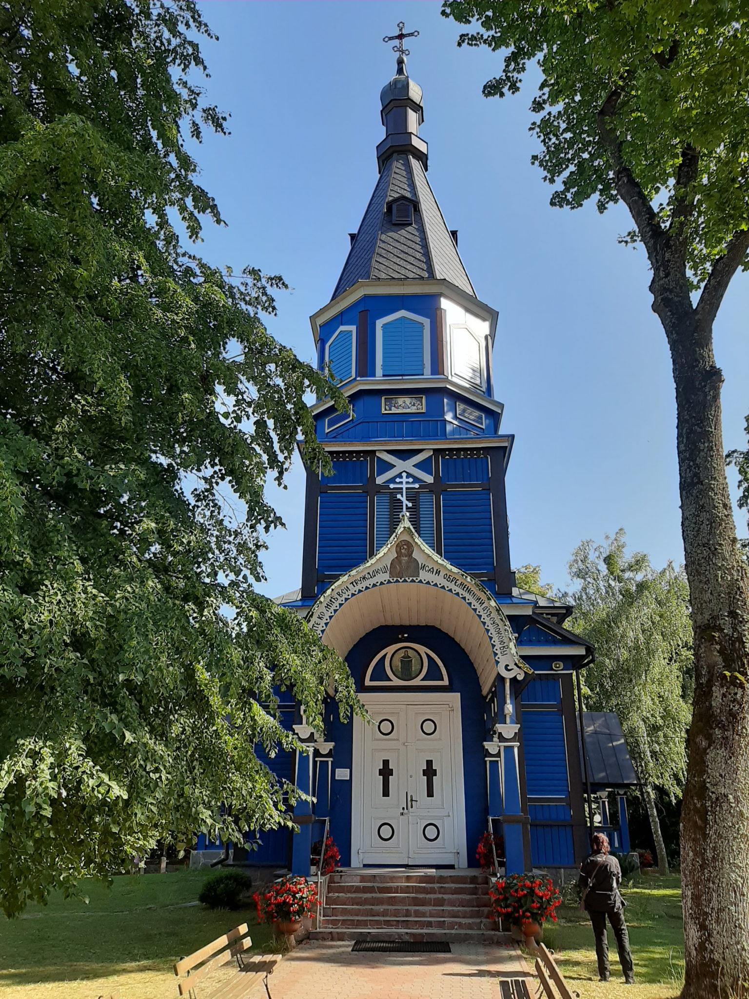 Cerkiew w krajobrazie Podlasia jest czymś zwyczajnym