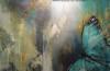 MORPHO PELEIDES, akryl 100cmx160cm