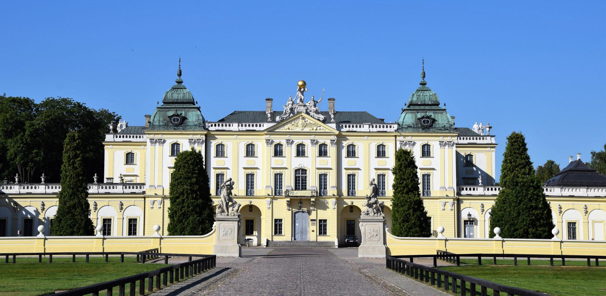 Pałac Branickich w Białymstoku, obecnie siedziba Uniwersytetu Medycznego