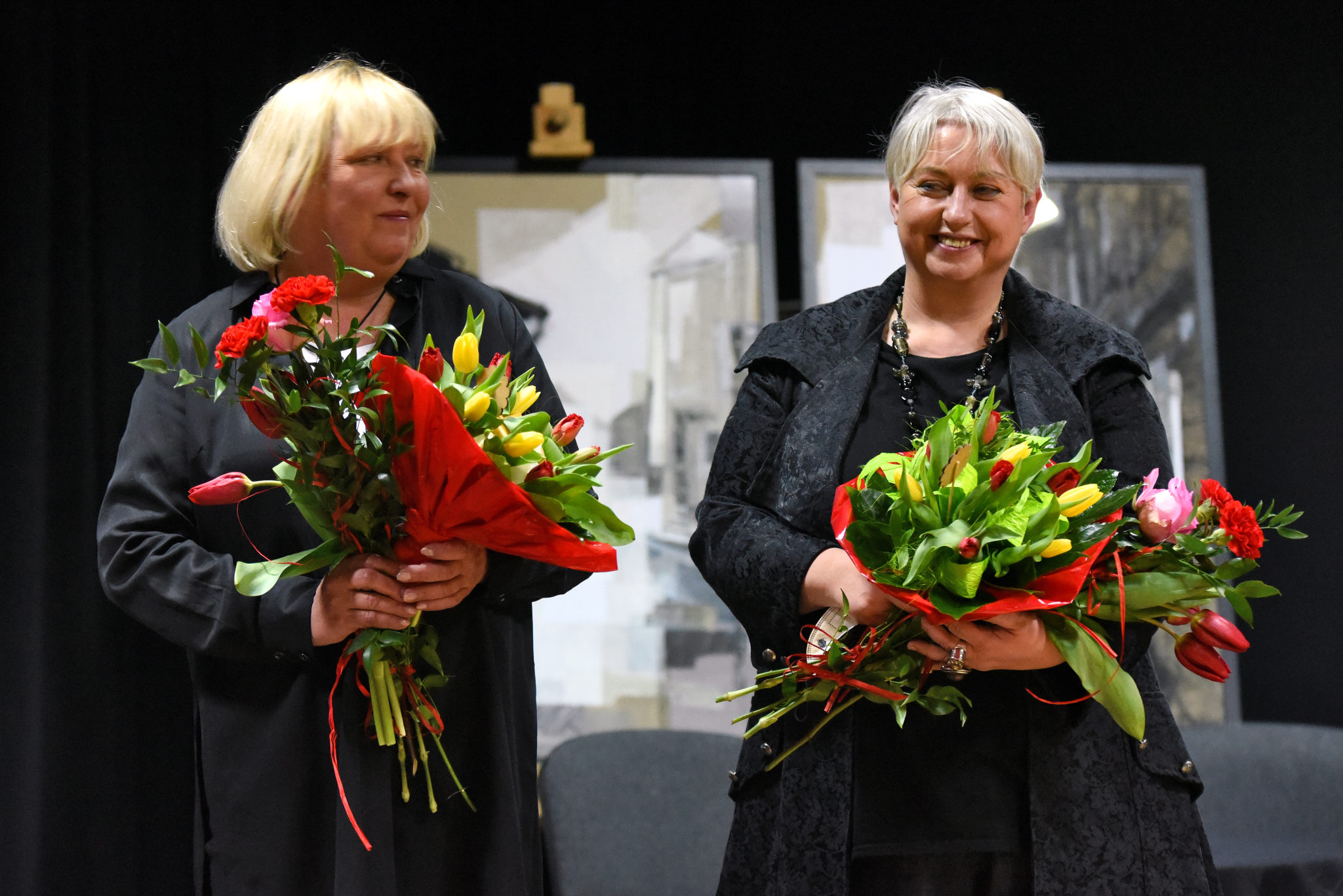 Magda Omilianowicz i Greta Grabowska